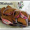 Makrouts frits aux dattes