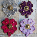 Broches trfles automne