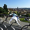 Rome - Au belvedere de la villa borghese