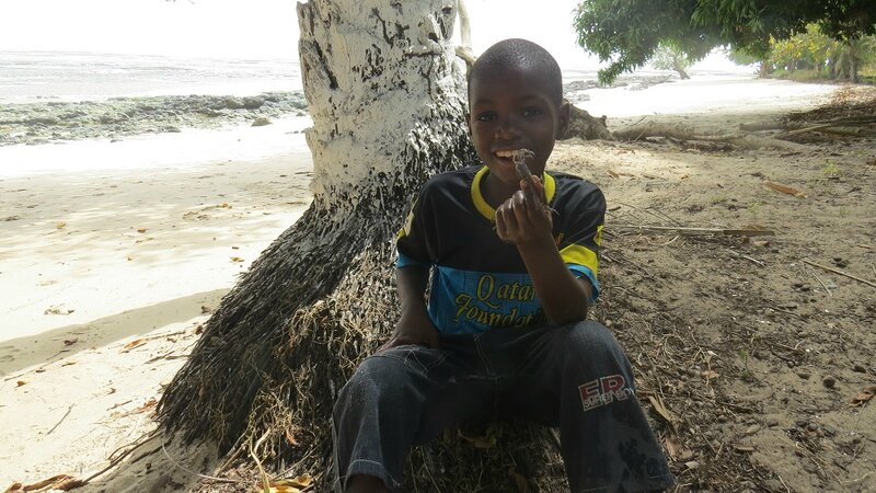 enfant sur la plage