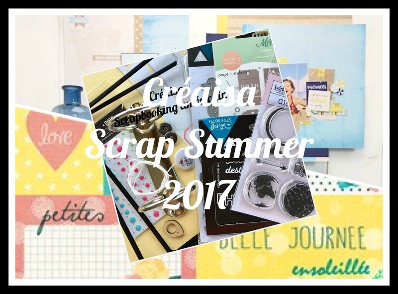 2017 Créaisa Scrap Summer kit