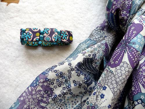 détail chèche et bracelet