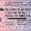 Css - mercredi 18 avril 2007 - elysée montmartre (paris)