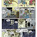 Le complot des capes noires . pages 14 et 15