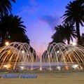 Fontaine Fés la nuit