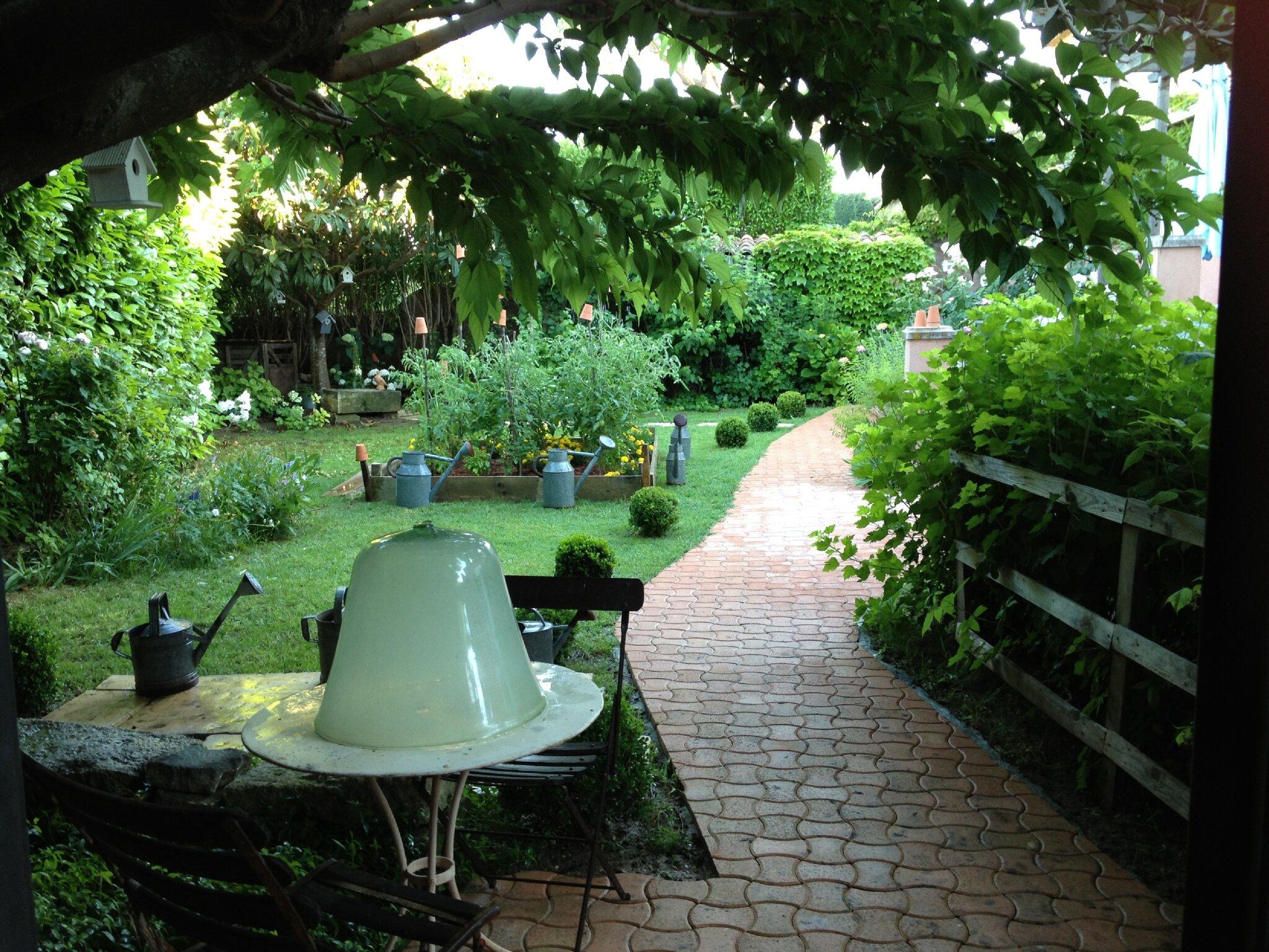 Pour mon petit jardin de cur deux le grenier de - Beau petit jardin ...