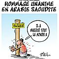 ps hollande arabie saoudite humour liberte d'expression