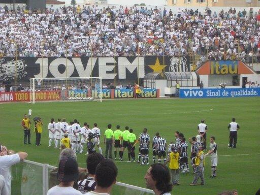 match de Santos FC des garcons