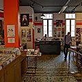 La boutique de musique Souffle Continu.