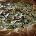 Quiche aux courgettes et ricotta - Torta salata con zucchine e ricotta