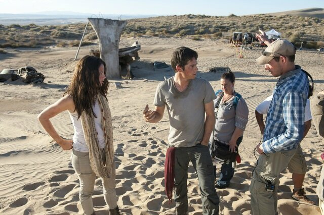 The Maze Runner Scorch Trials On The Set 01