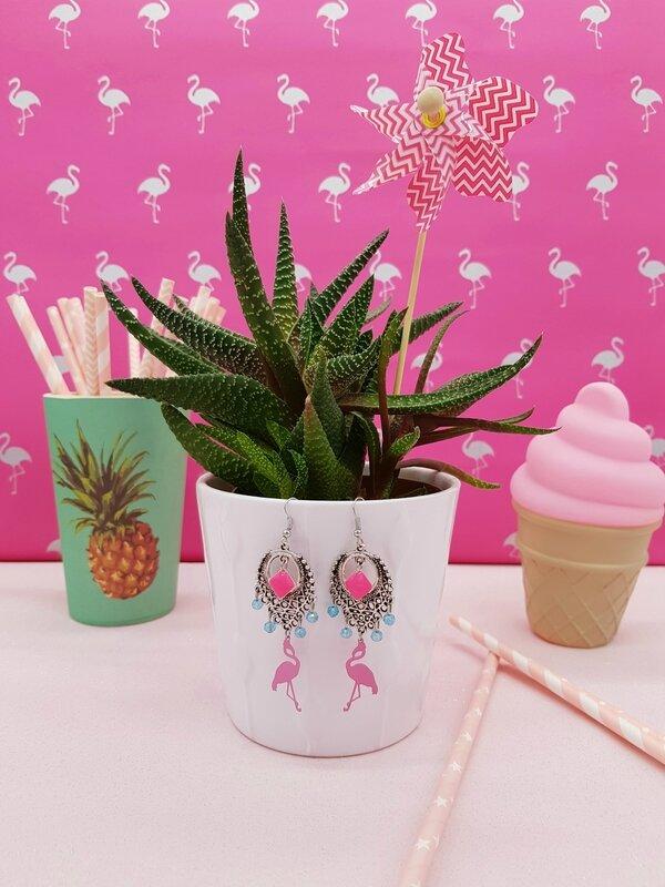 boucles-oreilles-flamant-rose-DIY-Bonnie-Parker-Creations-1