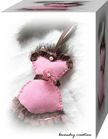 corset rose 3d