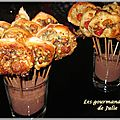 Pizza pops (fourme d'ambert et saint-nectaire)