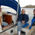 Apéro en bateau...au port! Ile de Bozcadaa
