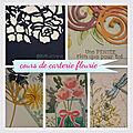 Cours de carterie fleurie d'octobre