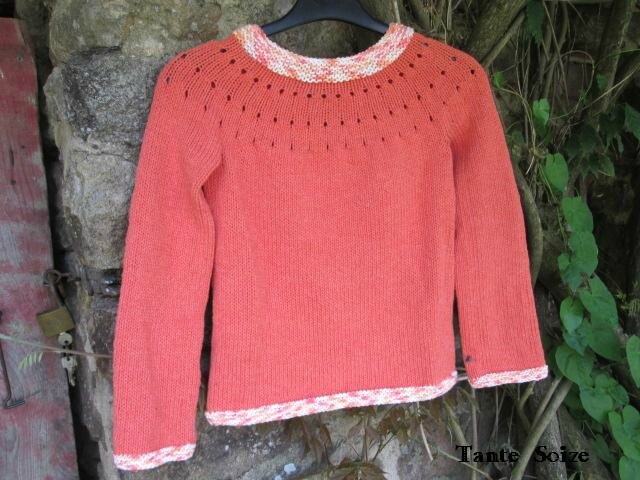 Pull coton 10ans