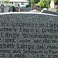 Familiengrab LANGE in HEILSBRONN