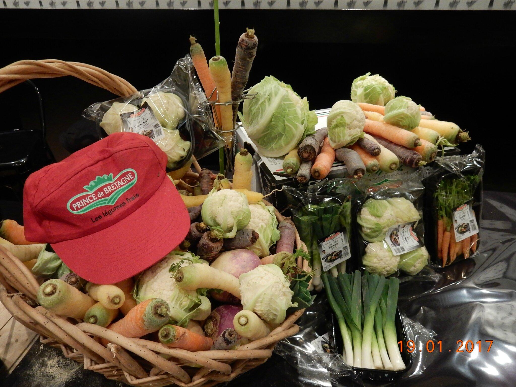des légumes aussi bons que beaux !