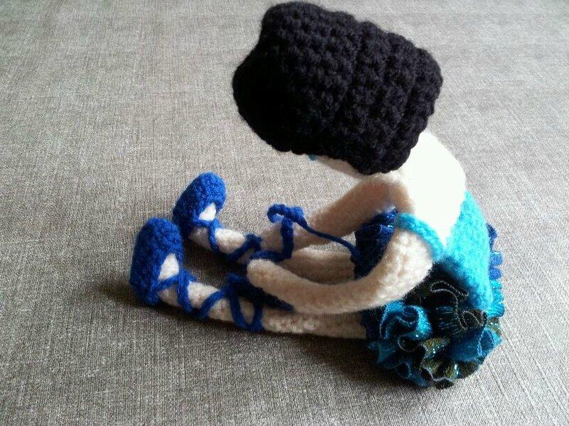 danseuse tutu bleu 8