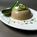 Bavarois aux courgettes
