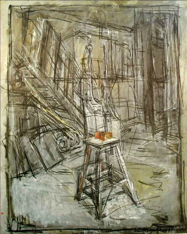 Giacometti atelier petit