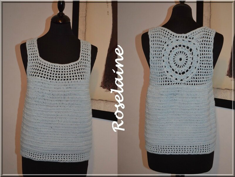 Roselaine 202 Simply Crochet top