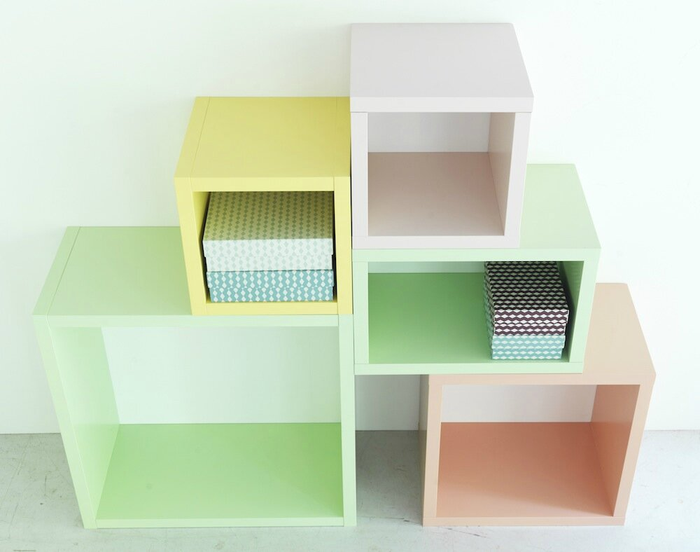 La collection capsule brakig d 39 ikea sonia saelens d co - Cube couleur rangement ...