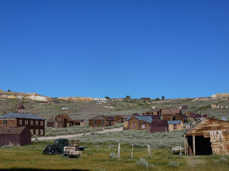 Bodie Ghost Town en Californie aux USA