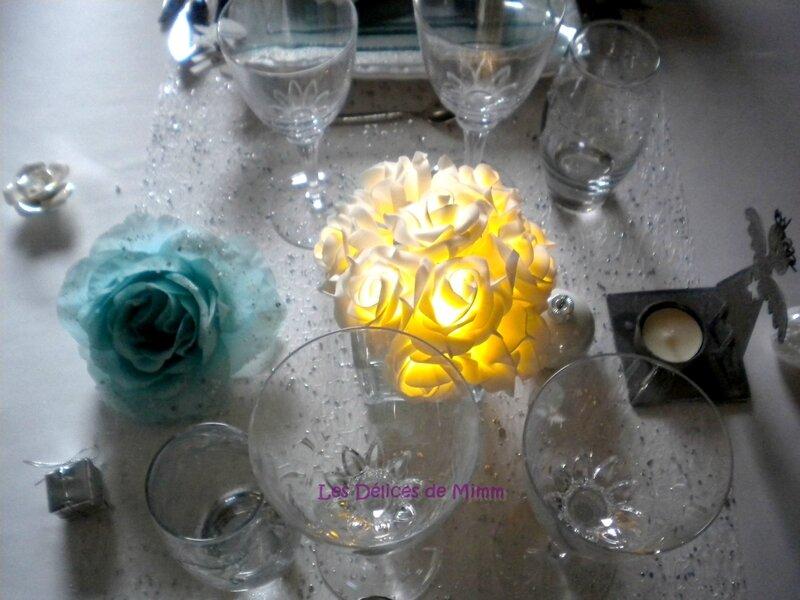 Ma table Noël Blanc 12