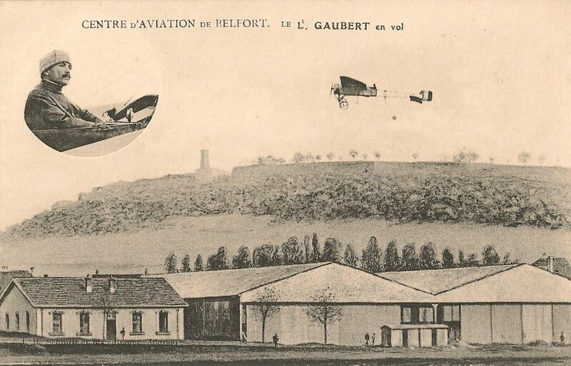 Belfort CPA Aviateur Lt Gaubert Camp