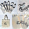 Mini Tote Bag : Mon Little Bazar