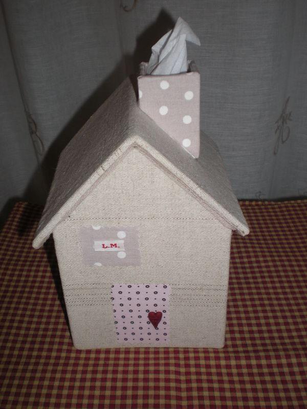 La boite mouchoirs de plus pr t photo de id es de - Boite a mouchoirs maison ...