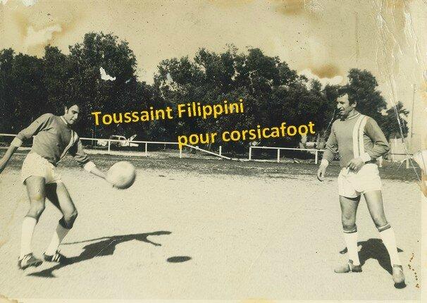 009 1063 - MEP - Filippini Toussaint - Claude Papi - Ses débuts à 1967