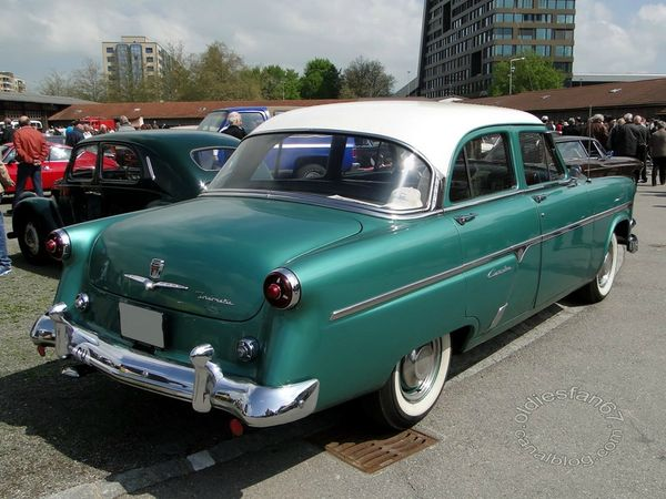ford customline sedan 1954 4