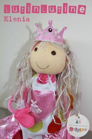 Lutine Elenia Princesse de coeur