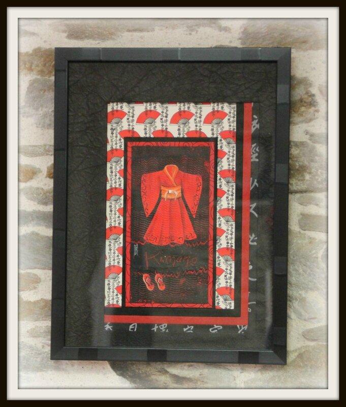Cadre kimono