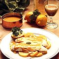 Filets de saint-pierre au beurre de moutarde