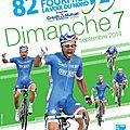 Pour tout savoir sur le 82ème grand prix cycliste de fourmies (gpf) ce dimanche 7 septembre 2014...
