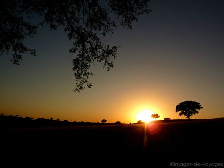 Couché de soleil - Alentejo - Portugal