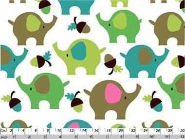 éléphants verts