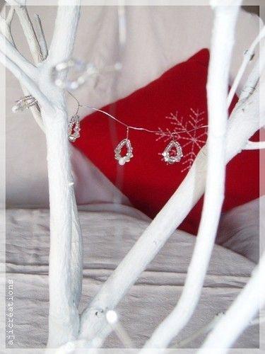 Noël en blanc et rouge