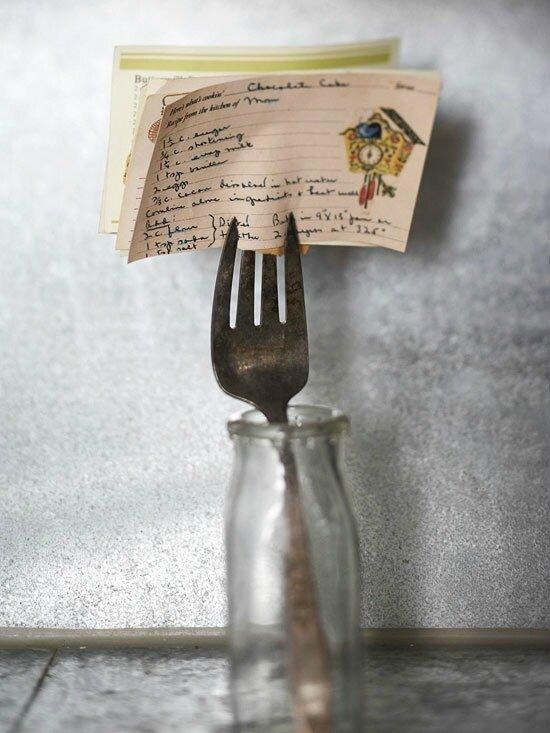 détournement de petite fourchette vintage