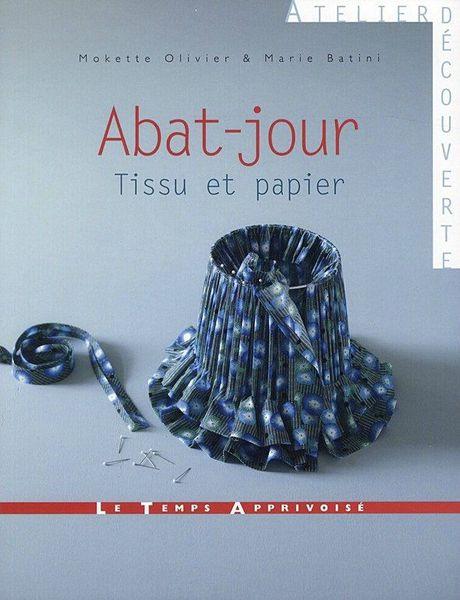 livre abat_jour tissus et papier