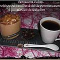 Pannacotta aux douceurs chocolatées