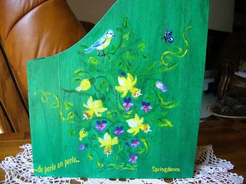 Peinture acrylique sur bois photo de peintures et - Peinture acrylique sur bois ...