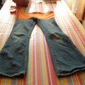 Transformation d'un jeans en pantallon de grossesse