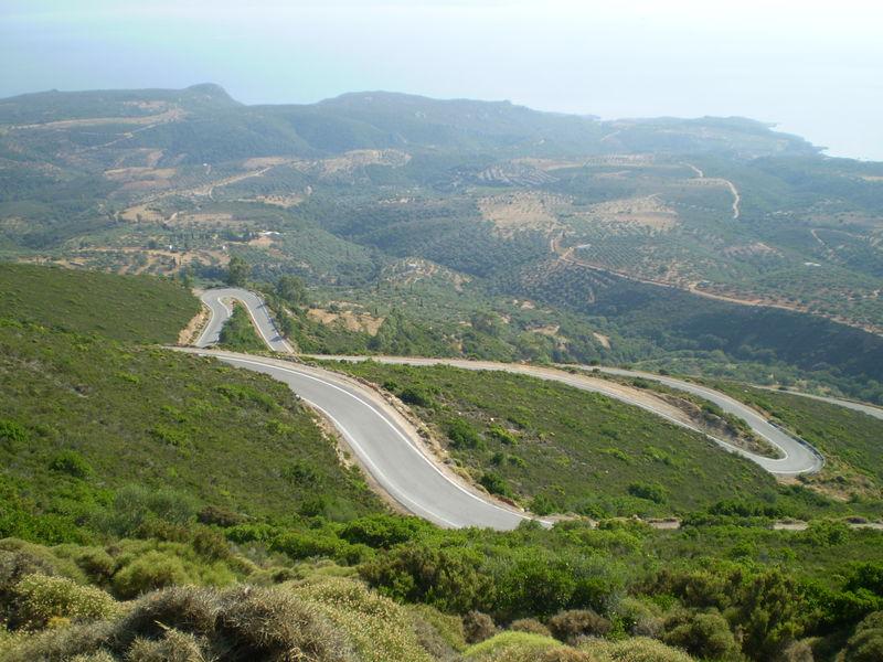 itinéraire grèce neapolis monemvassia