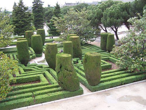 Madrid-Jardines de Sabatini