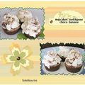 Savons cupcakes choco banana